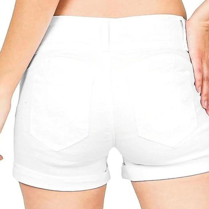 Short Pour Femme Extensible Court Shorts