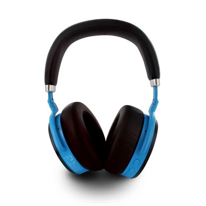 POWERADE Casque audio à réduction de bruit active ANC avec bluetooth aptX