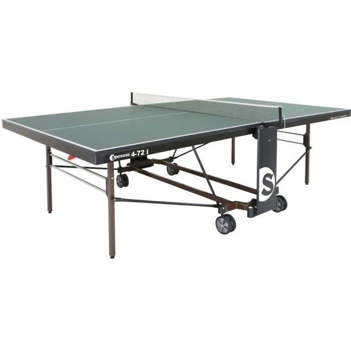 tennis de table intérieur S4-72 i vert 274 x 152,5 x 76 cm