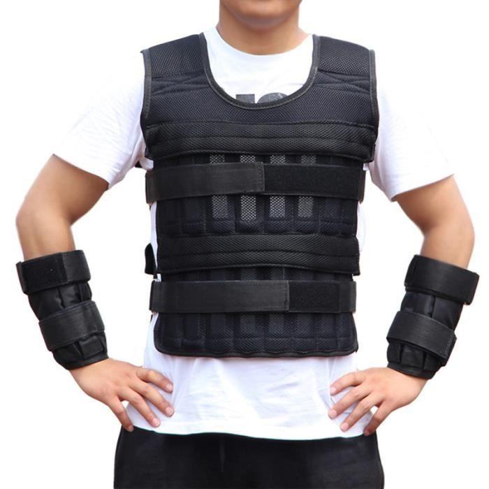 1 set Gilet de musculation porteur de poids Running Gear-portant équipement Équipement APPAREIL ABDO - PLANCHE ABDO
