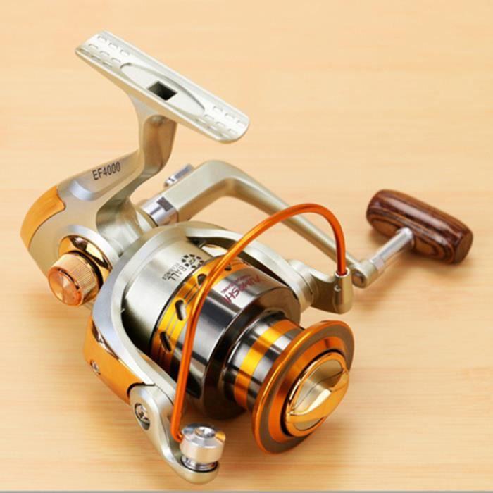 YUMOSHI moulinet de pêche pêcheur EF métal
