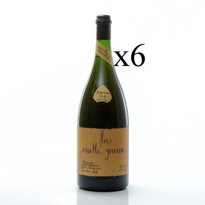 DIGESTIF EAU DE VIE magnum LA VIEILLE PRUNE LOUIS ROQUE 150cl x6