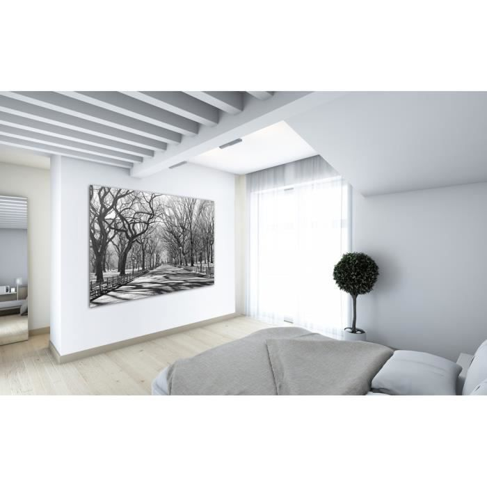 photo photo murale poster grand format 175x115 cm art et tendance blanc et noir new york. Black Bedroom Furniture Sets. Home Design Ideas