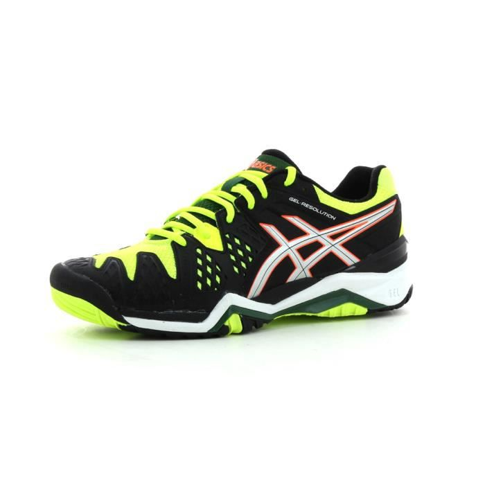 chaussures de tennis asics gel resolution 6 prix pas cher cdiscount. Black Bedroom Furniture Sets. Home Design Ideas