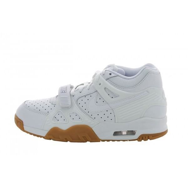 nike air trainer blanche