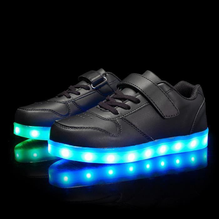 Chaussures Lumineuse a led pour les enfants usb