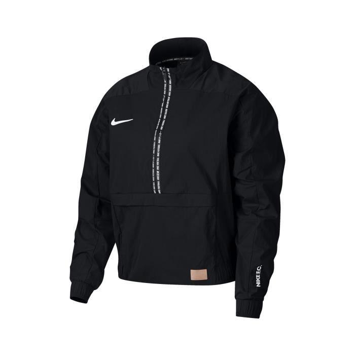 Sweat Nike F.C. Noir Femme