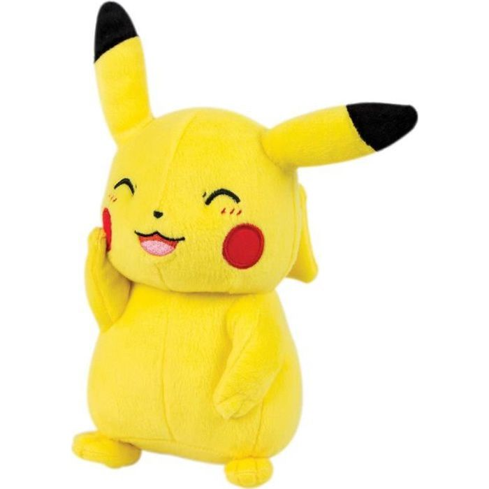 POKEMON Peluche Pikachu son & lumi POKEMON Peluche Pikachu son ...