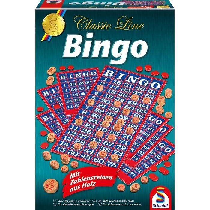 LOTO - BINGO SCHMIDT AND SPIELE Jeu de société - Bingo - Classi