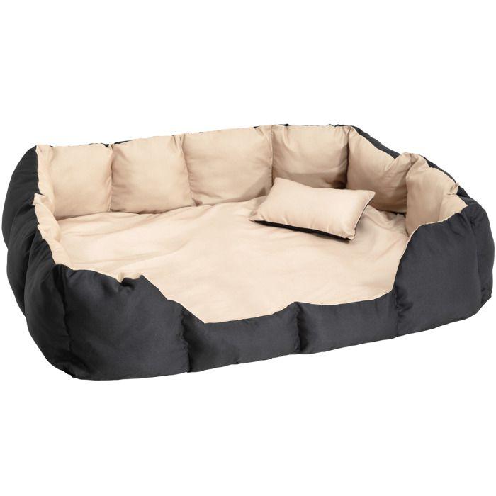 tectake panier pour chien tapis de sol coussin