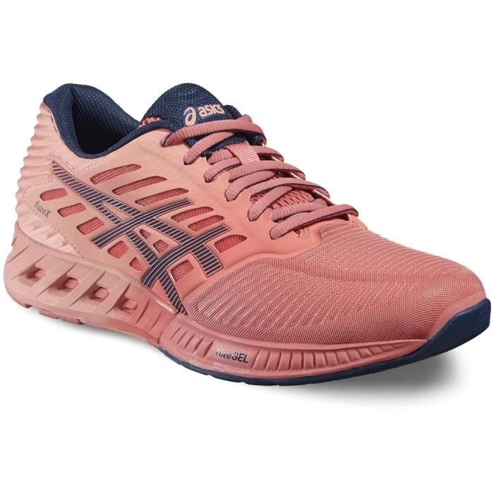 Asics FuzeXT689N-1758 Femme Baskets Orange wteivhYQMZ