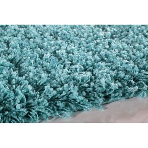Tapis rond turquoise achat vente tapis rond turquoise pas cher cdiscount - Tapis shaggy turquoise ...