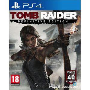 JEU PS4 Tomb Raider Edition Definitive Jeu PS4