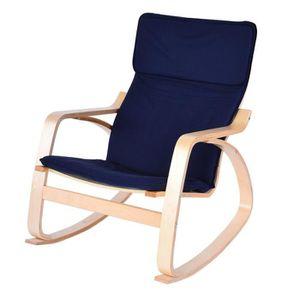 CHAISE DE BUREAU VAGUE Fauteuil à bascule chaise de détente confort