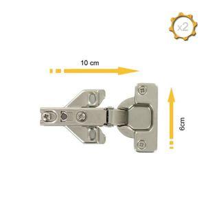 4Pcs 8mm Cylindrique Cuivre en Forme De Baril Charni/ères Dissimul/ées Charni/ère en M/étal pour Mat/ériel De Consommation Cabinet