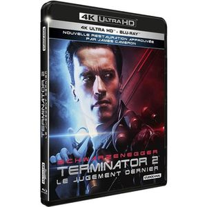 BLU-RAY FILM terminator 2 le jugement dernier blu ray 4k + blu