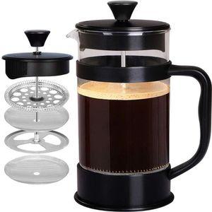 COMBINÉ EXPRESSO CAFETIÈRE [1,0 L/ 1000 ml] Cafetière à Piston   Français pre