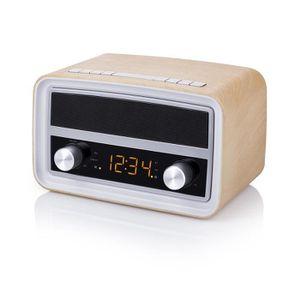 Radio réveil Radio rétro Smartwares RD-1535 – Bluetooth – USB –