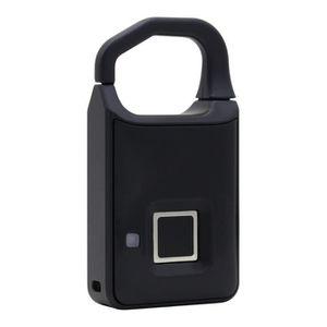 Serrure de Porte /électronique Reconnaissance dempreintes digitales Smart Keyless /étanche s/écurit/é Anti-vol Cadenas Cadenas /à Empreintes digitales