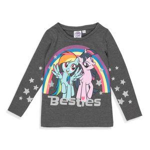 T-SHIRT MON PETIT PONEY T-shirt Licorne Gris Foncé Enfant