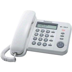Téléphone fixe TÉLÉPHONE PANASONIC TÉLÉPHONE FIXE KX-TS560EX1W BL