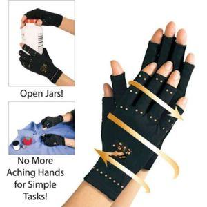 GENOUILLERE  gant de compression en cuivre et nylon arthrite ma