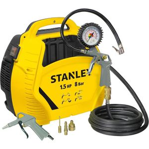 COMPRESSEUR STANLEY Compresseur d'air sans cuve + kit de gonfl