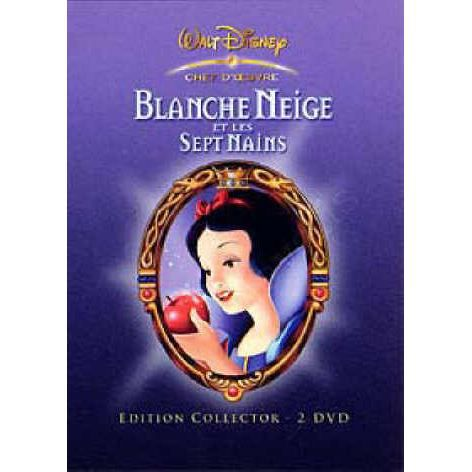 dvd blanche neige en dvd dessin anim pas cher disney walt. Black Bedroom Furniture Sets. Home Design Ideas