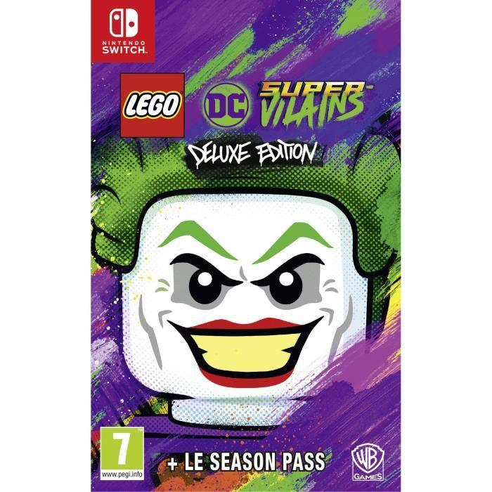 JEU NINTENDO SWITCH LEGO DC Super-Vilains Deluxe Édition Jeu Switch