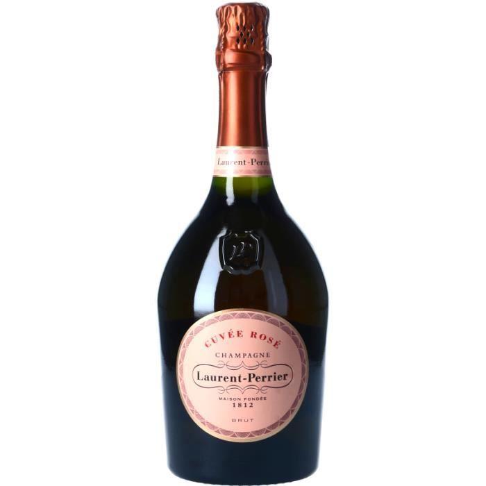 Champagne et Méthode Traditionnelle - Champagne Laurent-Perrier La Cuvée Rosé - Bouteille 75cl 4>Effervescent