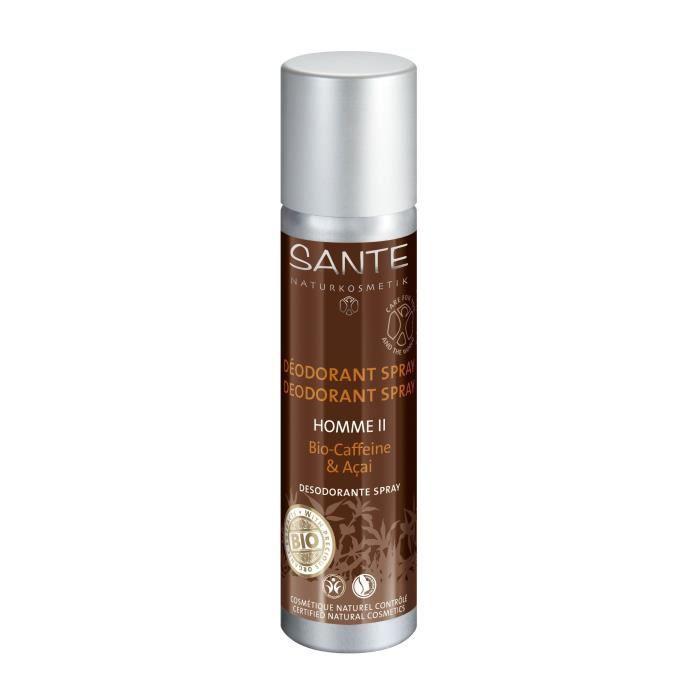 SANTE Déodorant spray Caféine et Açaï - Homme II - 100 ml