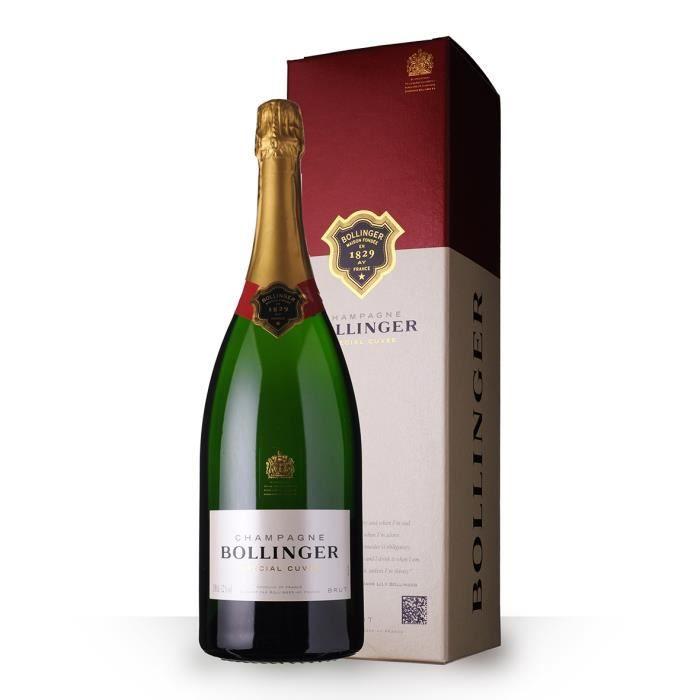 Bollinger Spécial Cuvée Brut 150cl Magnum - Etui - Champagne