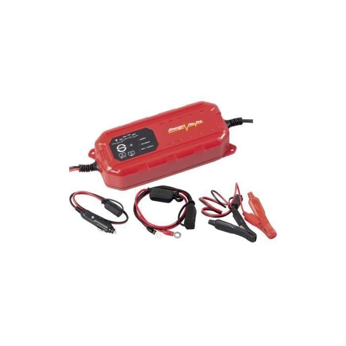 Chargeur batterie intelligent 12-24V 7A Kraftwerk 31313