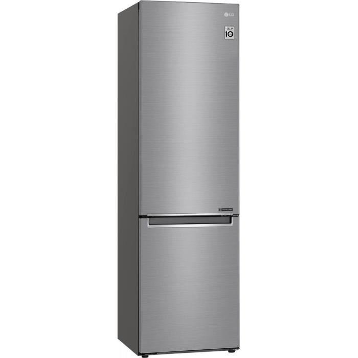 Réfrigérateur Combiné Inversé Lg Gbb 62 Pzjzn