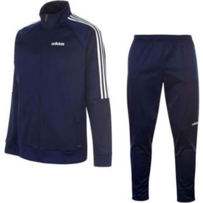 Jogging Homme Adidas Performance 3 bandes Marine