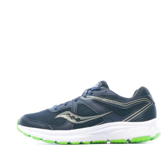 Chaussures de running bleu marine homme Saucony Grid Cohesion 11