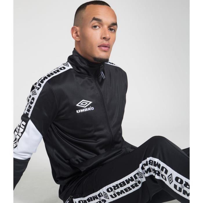 Umbro Veste Polyester Mixte Noir