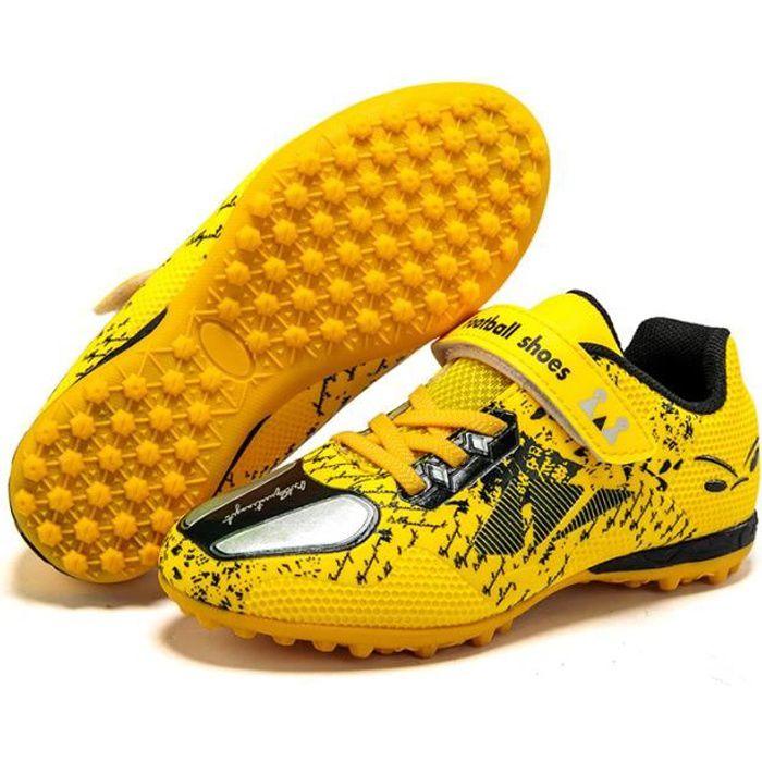 Chaussures sport enfants - de Football pour - Yellow
