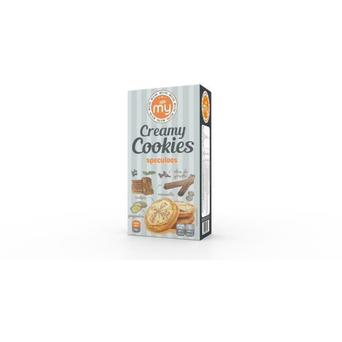 My creamy cookies speculoos 150g