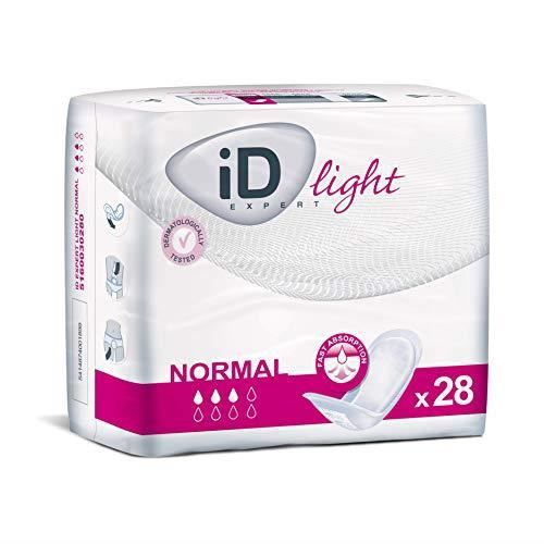 Ontex Id Expert Light Normal Taille 280 mm Pack 28 Incontinence Protection pour Adulte 091549740