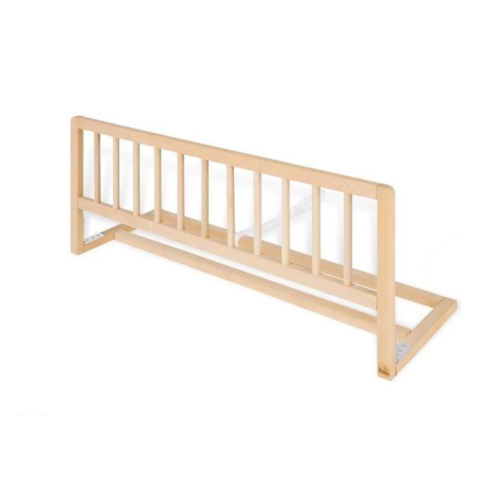 Barriere de lit classique 90cm Hetre Naturel
