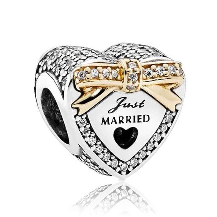 Bracelet Q43FK Mariage ornement charme Just Marrie