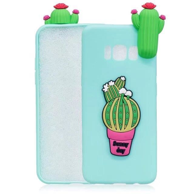 coque iphone 8 cactus vert a la mode dessin anime