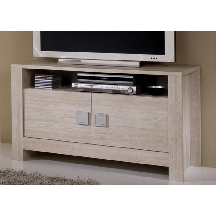 meuble tv pisi couleur ch ne clair achat vente meuble tv meuble tv pisi couleur ch n. Black Bedroom Furniture Sets. Home Design Ideas