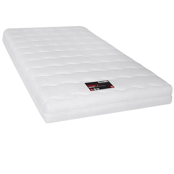 matelas dunlopillo physial b 120x200 achat vente matelas cdiscount. Black Bedroom Furniture Sets. Home Design Ideas