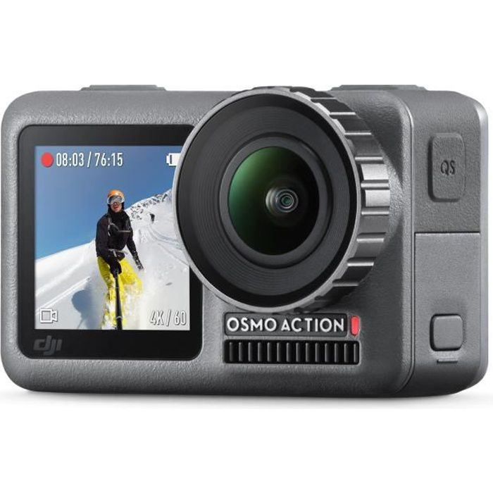 Photo de dji-osmo-action-camera-sport-numerique-4k-etanche-noir