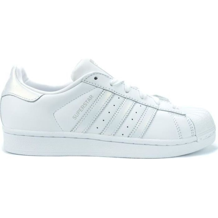 chaussures basses baskets mode tennis Adidas superstar bordeaux