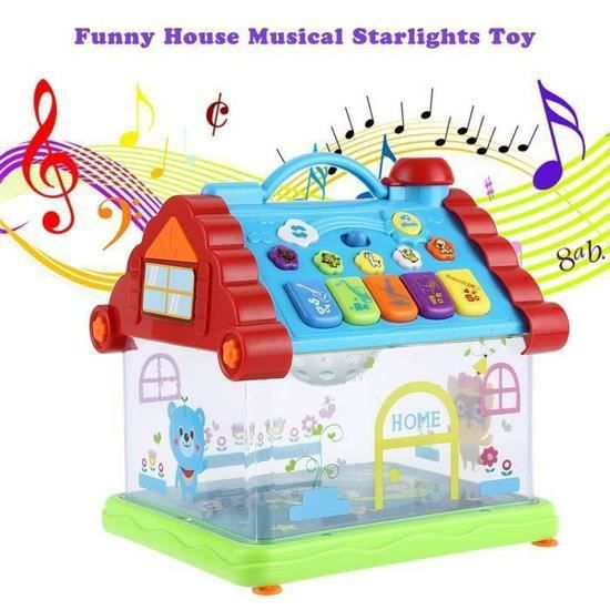 stoex musical maison jouets musique enfant piano. Black Bedroom Furniture Sets. Home Design Ideas