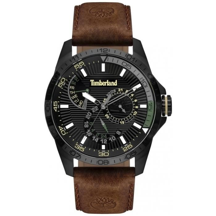 montre homme timberland cuir