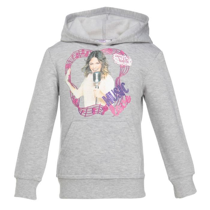 violetta sweat enfant fille achat vente sweatshirt violetta sweat enfant cdiscount. Black Bedroom Furniture Sets. Home Design Ideas